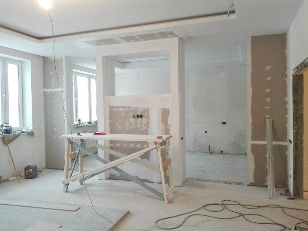 Ремонт в новостройке под ключ в жилом комплексе «Янтарь»