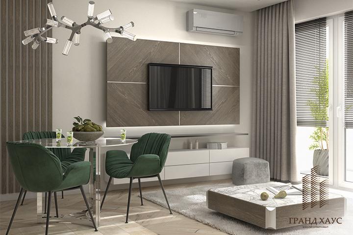Ремонт в квартире в жилом комплексе «Новая Боровая»