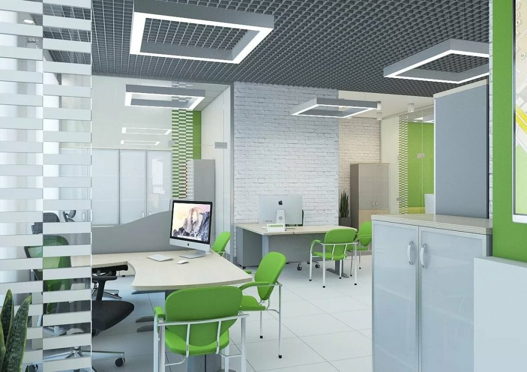 Ремонт офисов под аренду: этапы, состав работ, фото и стоимость