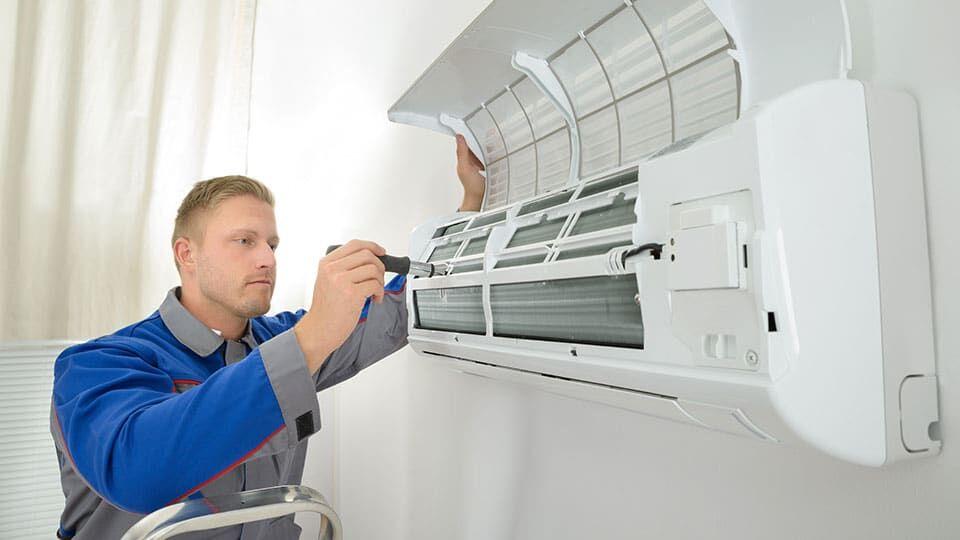 Третий этап ремонта в квартире - разводка для подключения кондиционеров и установка оборудования