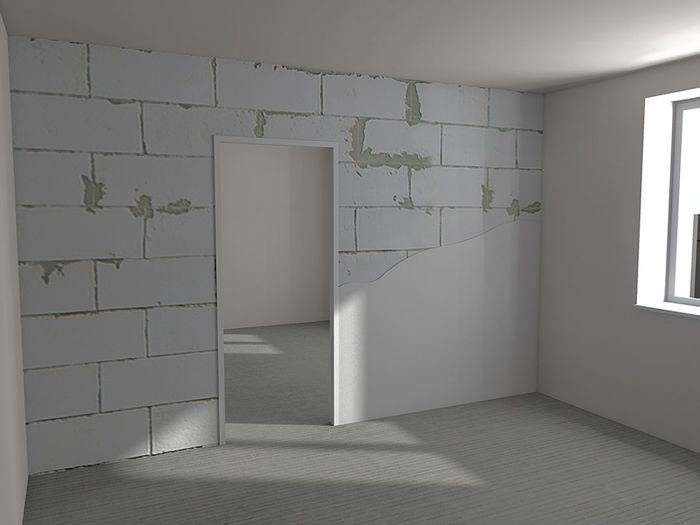 Второй этап ремонта в квартире — возведение стен